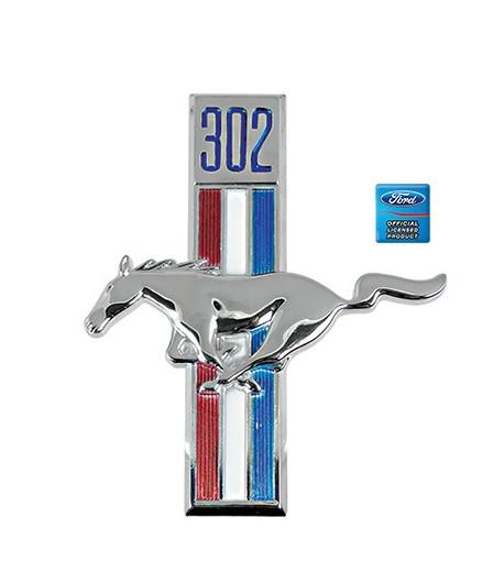 Cheval Mustang 68 Gauche 302