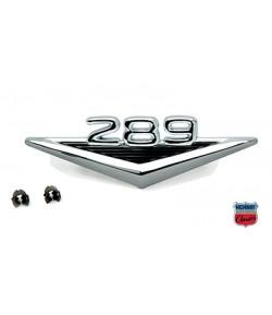 """65-66 Emblème """"289"""" aile AV"""
