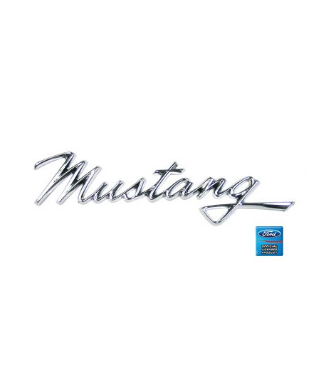 Emblème d'aile avant - Ford Mustang 1968