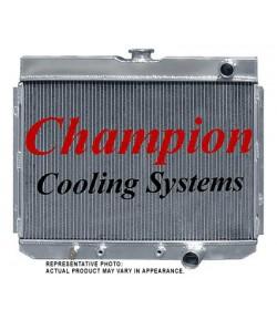 1967-70 RADIATEUR CHAMPION EN ALUMINIUM 3-RANGS