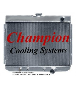 1967-70 RADIATEUR CHAMPION EN ALUMINIUM 2-RANGS