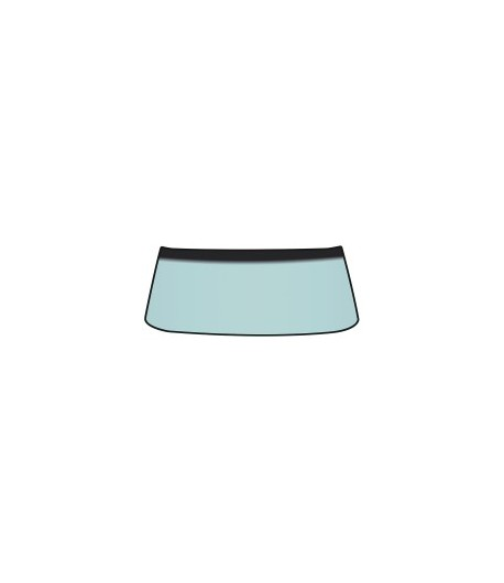 64 68 pare brise avant teinte verte avec bande d 39 ombrage. Black Bedroom Furniture Sets. Home Design Ideas