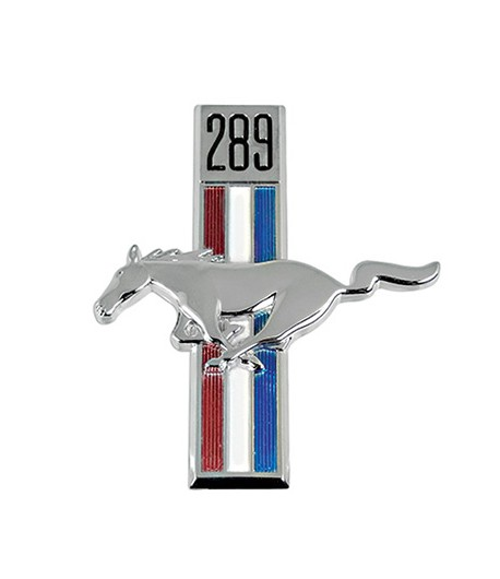 Cheval ornement Mustang 67/68 Gauche